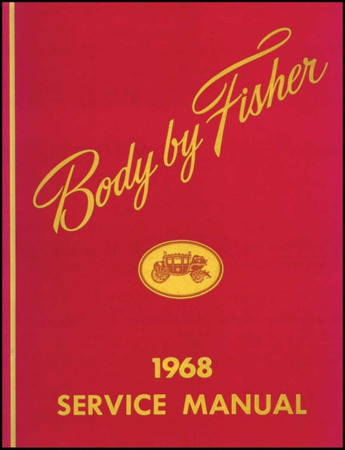 68 1968 Chevrolet Impala Chevelle Nova Fisher Body Shop Manual