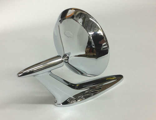 59 1959 60 1960 CHEVY IMPALA OUTSIDE DOOR CHROME MIRROR