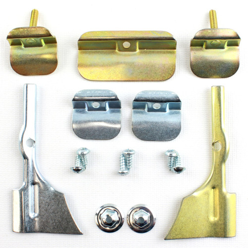 55 56 57 CHEVY WINDSHIELD STAINLESS MOLDING TRIM CLIP SET