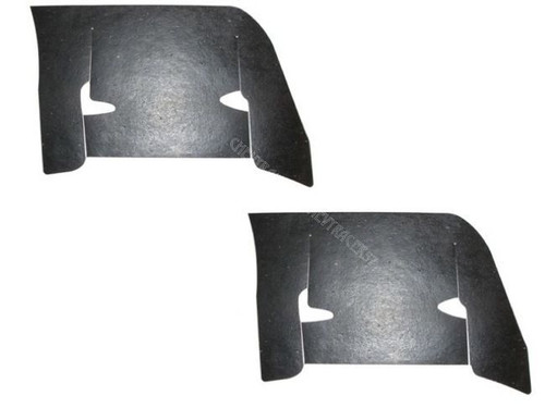 60 1960 Chevy Impala Inner Fender Control Arm Rubber Dust Shields
