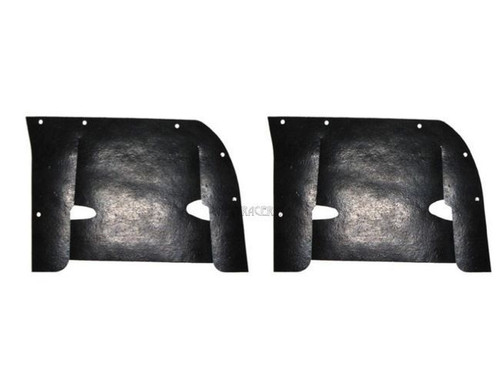 58 1958 CHEVY INNER FENDER A-ARM DUST SHIELDS