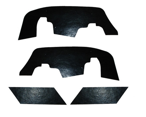 67 1967 Chevy Impala & Caprice 4pc Inner Fender Control Arm Rubber Dust Shields