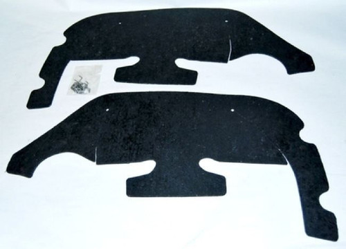 69 1969 CAMARO INNER FENDER A-ARM DUST SHIELDS