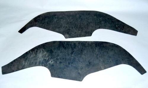 70 71 72 CHEVY NOVA INNER FENDER DUST SHIELDS