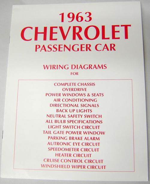 63 chevy impala electrical wiring diagram manual 1963 i 5 classic rh i5chevy com 62 chevy impala wiring diagram 62 chevy impala wiring diagram