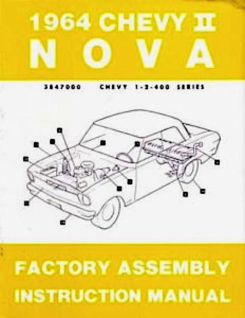 64 NOVA FACTORY ASSEMBLY INSTRUCTION MANUAL BOOK