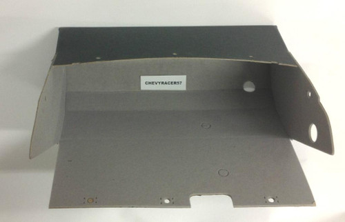 57 CHEVY DASH GLOVE BOX COMPARTMENT LINER 1957