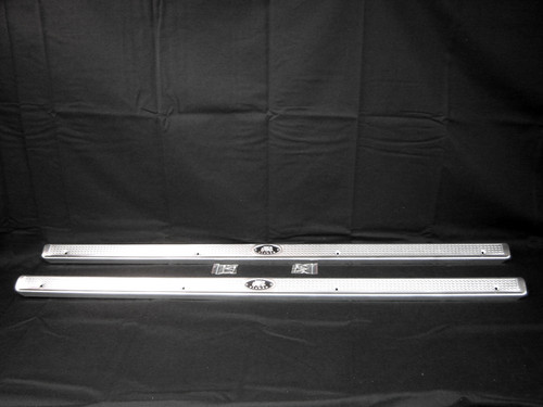 55 56 57 Chevy 2 Door Opening Aluminum Sill Plates New 1955 1956 1957