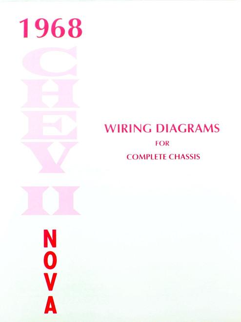 68 1968 Camaro Electrical Wiring Diagram Manual - I-5 ...