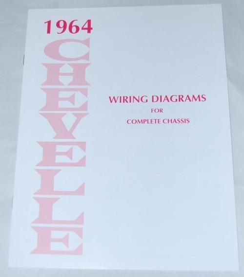 64 1964 Chevelle El Camino Electrical Wiring Diagram Manual
