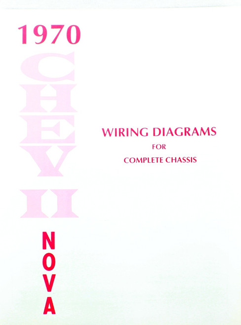 71 1971 CHEVY NOVA ELECTRICAL WIRING DIAGRAM MANUAL I5 Classic Chevy