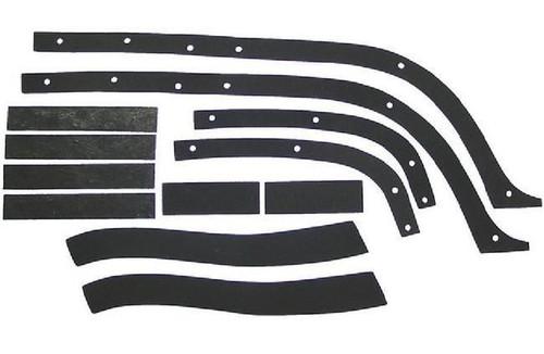 57 Chevy Front End Fender To Inner Fender Anti Squeak Rubber Seal Kit 1957