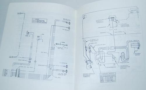68 Chevelle El Camino Electrical Wiring Diagram Manual 1968