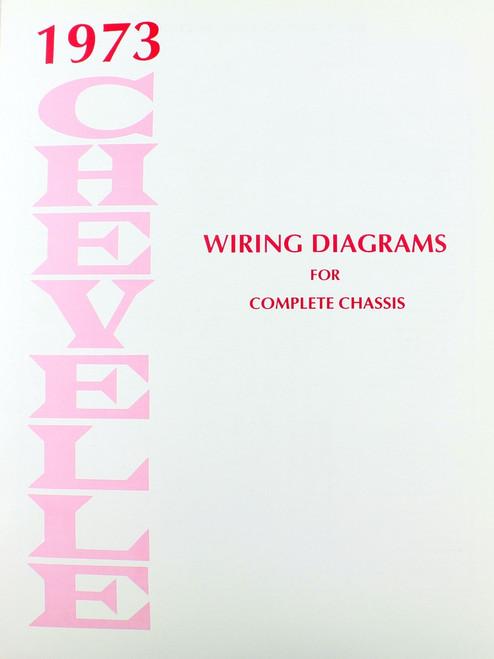 73 chevelle el camino electrical wiring diagram manual i 5 classic rh i5chevy com