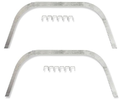 56 1956 Chevy Inner Fender A-Arm Dust Shield Mounting Retainers