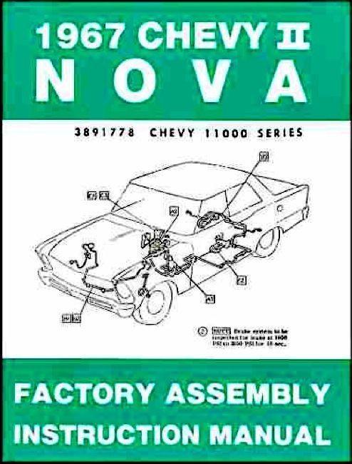 67 1967 nova factory assembly manual book guide i 5 classic chevy rh i5chevy com