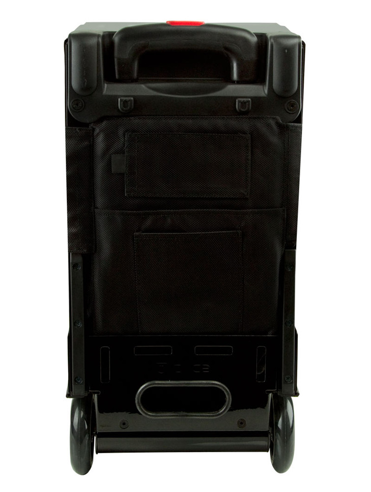 ZÜCA Pro Travel Black/Black - rear view