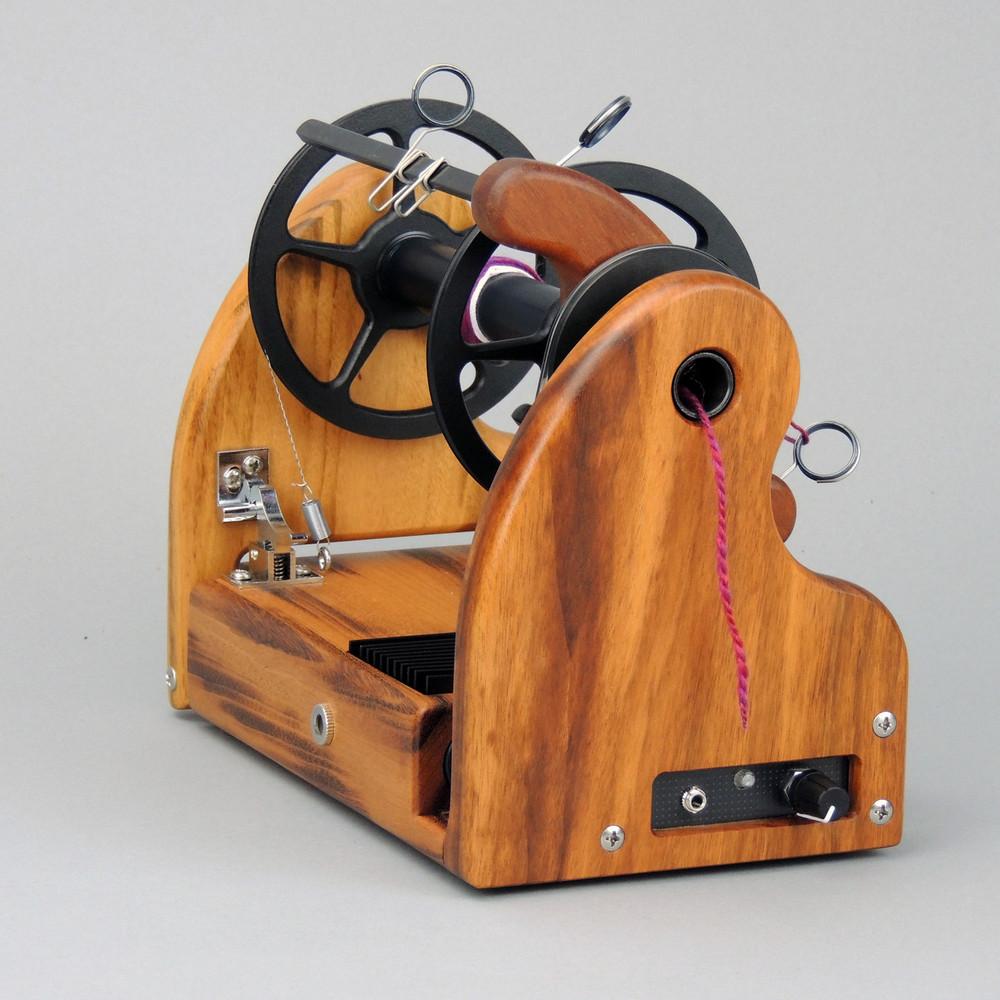 Beautiful Tigerwood HansenCrafts miniSpinner v2.