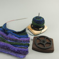 Yarn Ball Holder- Purpleheart