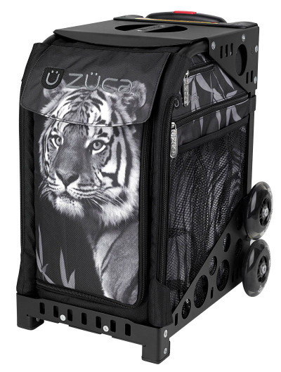 ZÜCA Sport bag with Tiger insert. Frame comes in black, red, green, blue, pink, purple, brown, white, or gray.