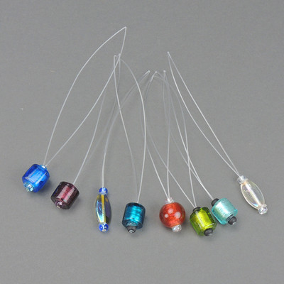 Beautiful glass beads in many different colors and shapes!