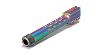 M&P Full Size Flame Fluted Barrel, 9mm, 416-R, Nitride, Threaded, Rainbow Coated