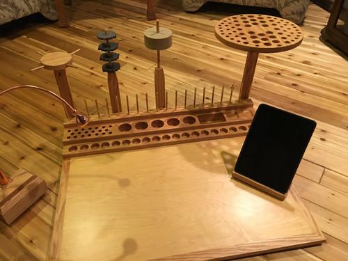 Penns Creek Modular Fly Tying Table Hartman Woodworking Llc