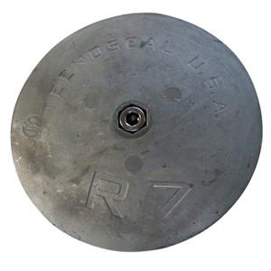 """Tecnoseal R7 Rudder Anode - Zinc - 6-1\/2"""" Diameter [R7]"""