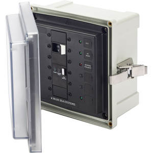 Blue Sea SMS Surface Mount System Panel Enclosure - 120\/240V AC\/50A ELCI Main - 1 Blank Circuit Position [3119]