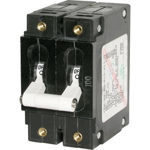 Blue Sea 7258 C-Series Double Pole Circuit Breaker - 100A [7258]