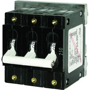 Blue Sea 7290 C-Series Triple Pole Circuit Breaker - 100A [7290]
