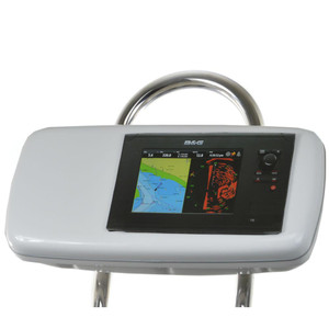 """NavPod GP1040-08 SystemPod Pre-Cut f\/B&G Zeus Touch 8 & Simrad NSS8 Mounted In Center f\/9.5"""" Wide Guard [GP1040-08]"""