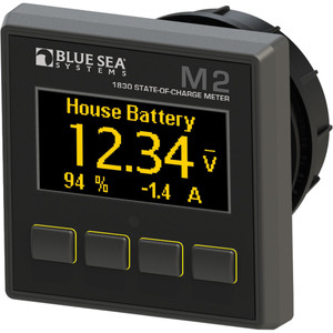 Blue Sea 1830 M2 DC SoC State of Charge Monitor [1830]