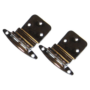 "Perko Chrome Plated Brass 3\/8"" Inset Hinges [0271DP0CHR]"