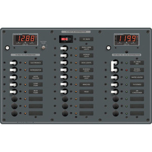Blue Sea 8508 AC Main + 6 Positions \/ DC Main + 18 Positions [8508]