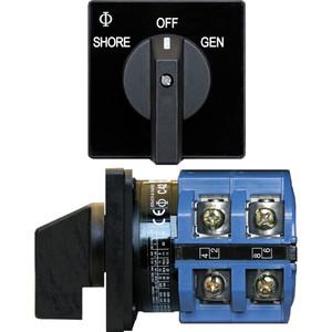 Blue Sea 9011 Switch, AV 120VAC 65A OFF +2 Positions [9011]