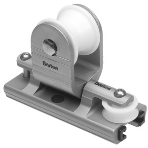 "Barton Marine Towable Genoa Car - Fits 32mm(1-1\/4"") T-Track [32 210]"