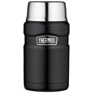 Thermos Stainless Steel King Food Jar - Black - 24 oz. [SK3020BKTRI4]