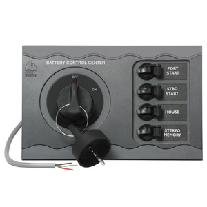BEP Battery Control Center f\/Twin Engine Remote [80-700-0051-00]