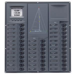 BEP Cruiser Series DC Circuit Breaker Panel w\/Digital Meters 32SP DC12V [NC32Y-DCSM]