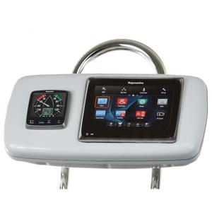 """NavPod GP1040-19 SystemPod Pre-Cut f\/Raymarine ES97\/ES98 & One Instrument f\/9.5"""" Wide Guard [GP1040-19]"""