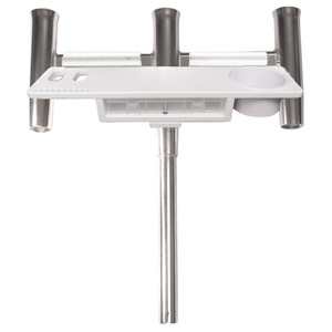 TACO Deluxe Trident Rod Holder Cluster Straight w\/Tool Caddy [F31-0780BXY-1]