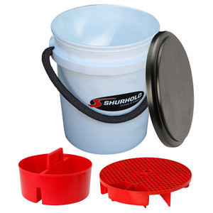 Shurhold One Bucket Kit - 5 Gallon - White [2461]