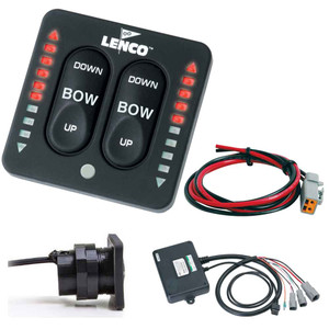 Lenco LED Indicator Two-Piece Tactile Switch Kit w\/Pigtail f\/Single Actuator Systems [15270-001]