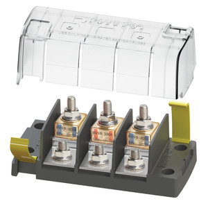Blue Sea 5194 MRBF Surface Mount 3 Circuit Fuse Block - Independent Source [5194]