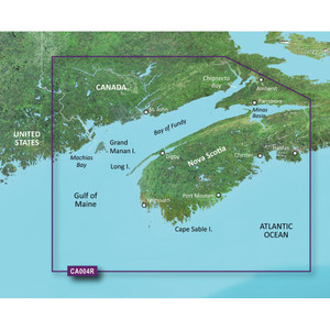 Garmin BlueChart g2 Vision HD - VCA004R - Bay of Fundy - microSD\/SD [010-C0690-00]