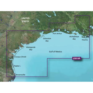 Garmin BlueChart g2 Vision HD - VUS014R - Morgan City to Brownsville - microSD\/SD [010-C0715-00]
