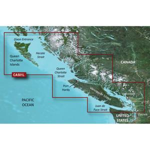 Garmin BlueChart g2 Vision HD - VCA501L - Vancouver Island - Dixon Entrance - microSD\/SD [010-C0701-00]