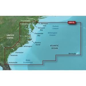 Garmin BlueChart g2 Vision HD - VUS512L - Mid-Atlantic - microSD\/SD [010-C0741-00]