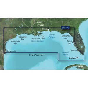 Garmin BlueChart g2 Vision HD - VUS515L - Brownsville - Key Largo - microSD\/SD [010-C0744-00]